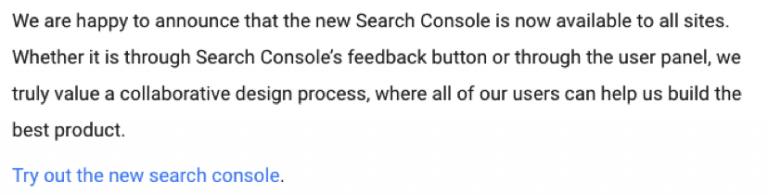 Yeni Search Console Kılavuzu